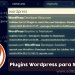 plugin wordpress para sublime 3